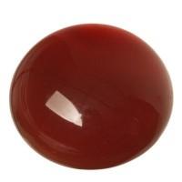 Edelsteincabochon Karneol, rund, 12 mm