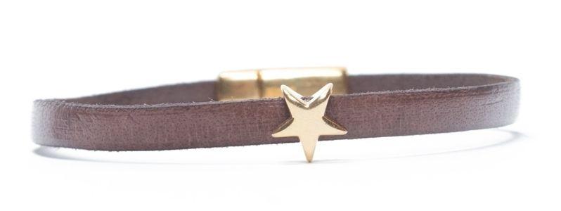 Minisliderarmband Goldener Stern