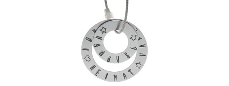 DIY-Anleitung für einen Metal Stamping Schlüsselanhänger