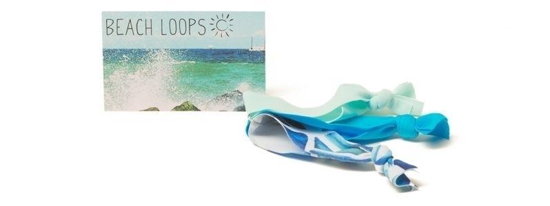 Beach Loops Türkisblau-Mix