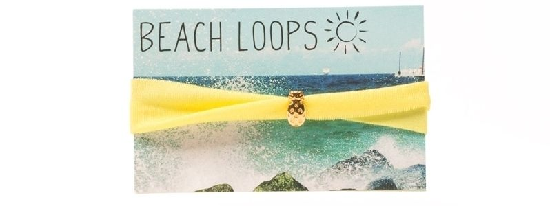 Beach Loop Ananas Gelb