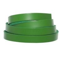 Berlin Lederband, 10 mm x 2 mm, Länge 1 m, hellgrün