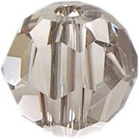Swarovski Elements, rund, 6 mm, crystal silver shade