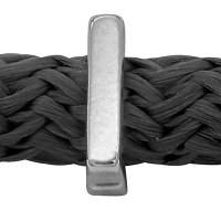 Grip-It Slider Buchstabe I, für Bänder bis 5mm Durchmesser, versilbert