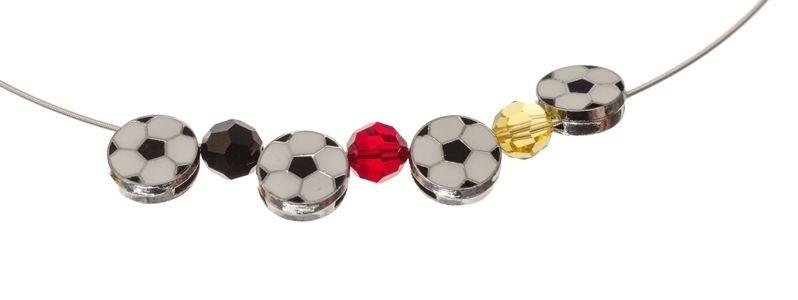 Collier mit Fußballslidern
