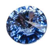 Swarovski Rivoli (1122), SS47 (ca. 10 mm), light sapphire