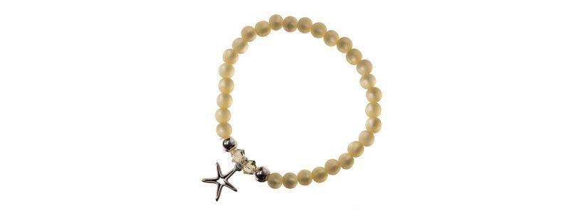 Polaris-Armband Gelb Stern