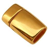 Magnetverschluss für 2 x Segelseil mit 5mm Durchmesser, vergoldet