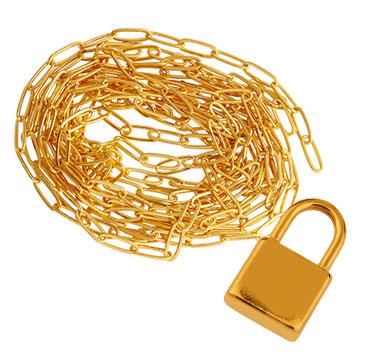 Paperclip-Chains und Edelstahlgliederketten