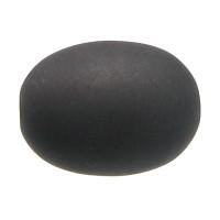Polarisperle Olive ca. 10 x 13 mm, schwarz