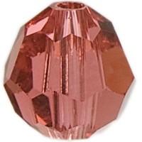 Swarovski Elements, rund, 8 mm, padparadscha