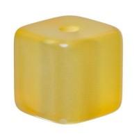 Polaris Würfel, 8 mm, glänzend, sonnengelb