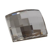 Swarovski Elements Chessboard Flat Back, 12 x 12 mm, crystal