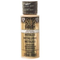 Folk Art Metallic Acryl-Farbe, Pure Gold, 59 ml