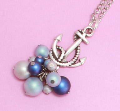 Schmuck mit neuen Crystal Pearls