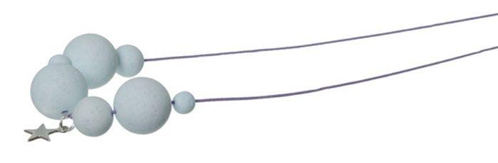 Stylische Kugelkette Aqua