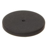 Polaris Perlenglück-Scheibe rund, 20 mm, schwarz