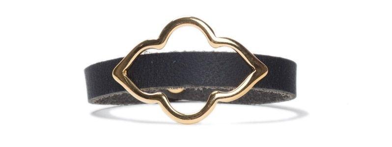 Armband mit Schiebeperlen Orientalisch Gold