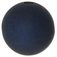 Polarisperle, rund, ca. 6 mm, dunkelblau