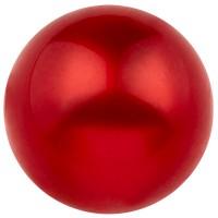 Polarisperle glänzend, rund, ca. 14 mm, rot