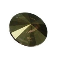 Swarovski Rivoli (1122), 14 mm,  crystal iridescent green
