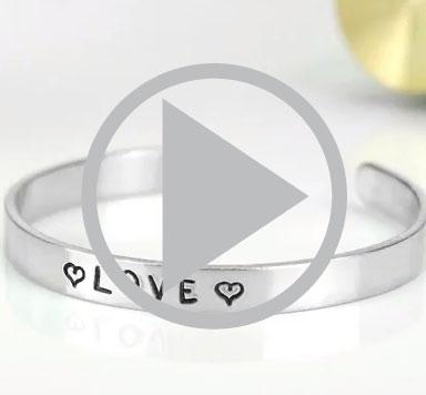 ImpressArt Video Anleitung für einen Metal Stamping Armreifen