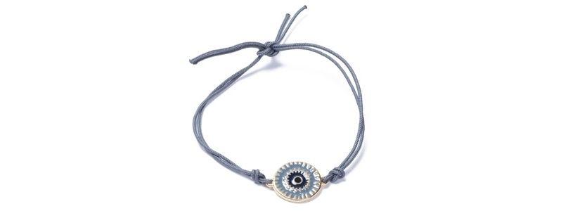 Armband mit Boho Emaille und Schmuckband