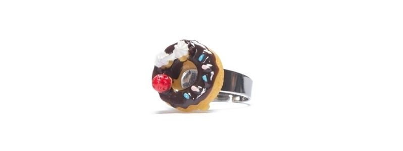 Ring Schoko-Donut