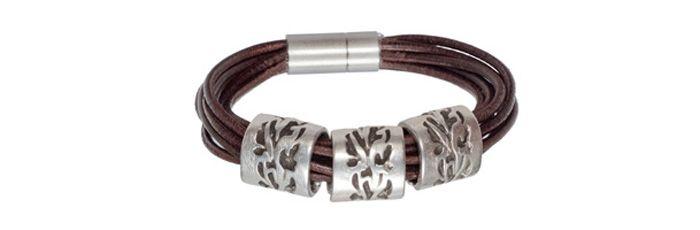 Armband Silberne Ranken