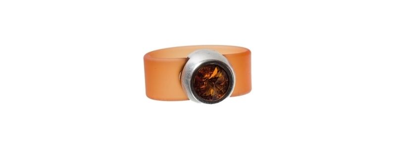 Rivoli Ring Tangerine