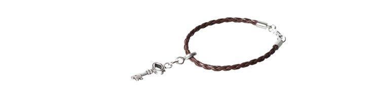 """Armband """"Baumelschlüssel"""""""