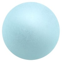 Polarisperle, rund, ca. 16 mm, aqua