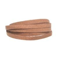 Craft Lederband, 5 mm x 1,5 mm, Länge 1 m, Camel