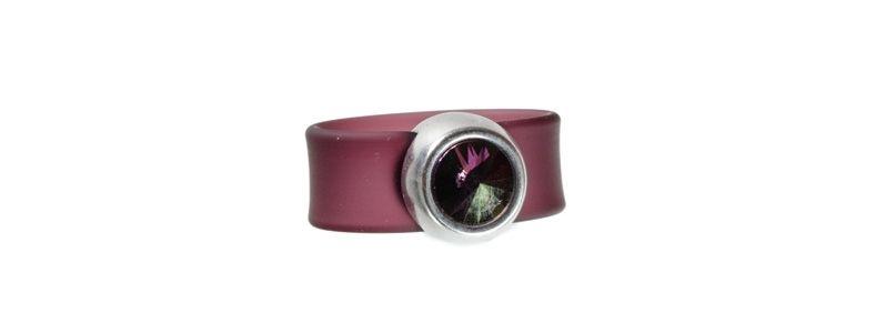 Rivoli Ring Crystal Lilac Shadow
