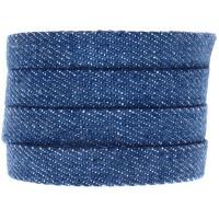 Denim Baumwollband, hellblau, 10 x 2 mm, Länge 1 m