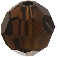 Swarovski Elements, rund, 6 mm, mocca