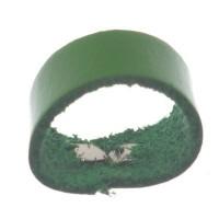 Berlin Lederband Schlaufe, 16 mm x 8 mm, hellgrün