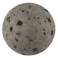 Polarisperle gala sweet, Kugel, 8 mm, anthrazit