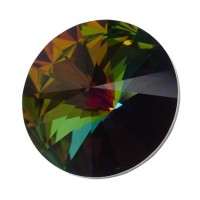 Swarovski Rivoli (1122), 18 mm, crystal vitrail medium