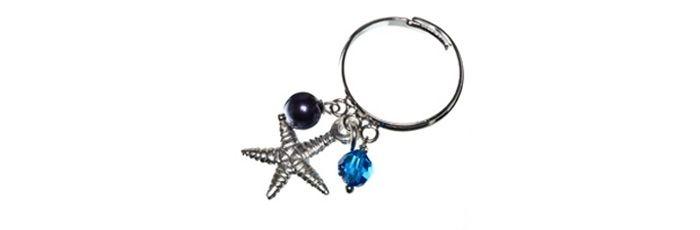 Charm Ring Stella Marina