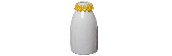 Vase Polaris Gelb