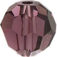 Swarovski Elements, rund, 8 mm, amethyst