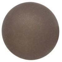 Polarisperle, rund, ca. 12 mm, anthrazit