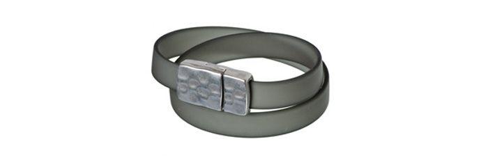 Wickelarmband Grau