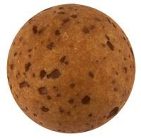 Polarisperle gala sweet, Kugel, 12 mm,dunkelbraun