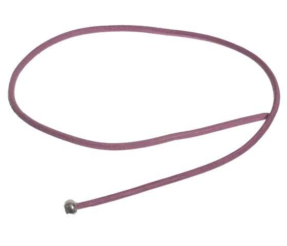 Wickelring mit Lederband und Glascabochons Schritt 2