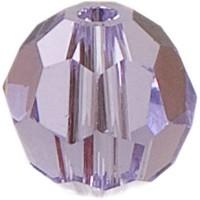 Swarovski Elements, rund, 6 mm, light violet
