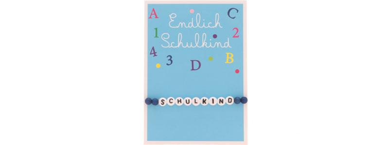 "Armband ""Endlich Schulkind"""