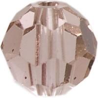 Swarovski Elements, rund, 6 mm, vintage rose