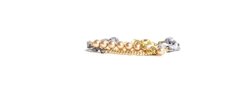 Goldschöne Armbänder Vintage Gold